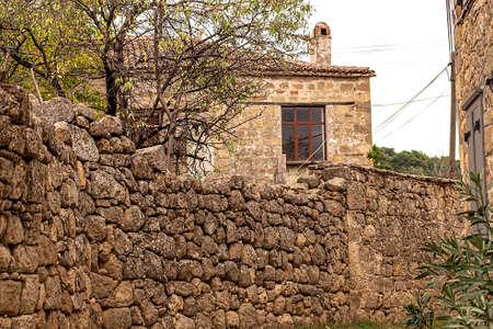 Adatepe village old stone houses
