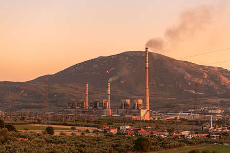 Soma power plant is a 990 MW coal fired power plant in Manisa Soma in western Turkey.