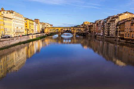 Ponte Vecchio, Florence, Italy 免版税图像
