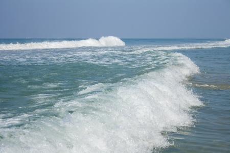 varkala: Running Sea wave