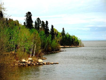 lake winnipeg: Spring at Lake Winnipeg