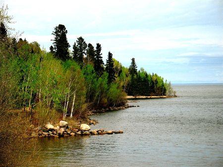 winnipeg: Spring at Lake Winnipeg