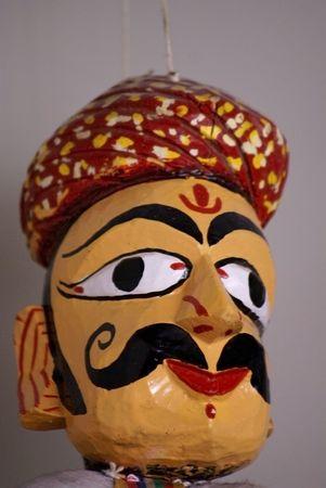 Rajasthani handmade puppet photo