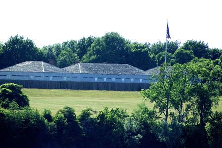 Old Fort George on the Niagara River