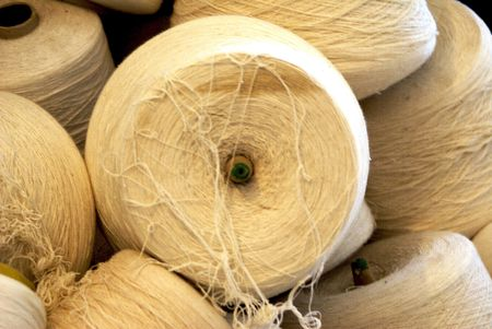 Skeins of yarn                 Reklamní fotografie
