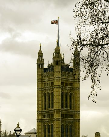 Westminister Parlement in Londen Stockfoto
