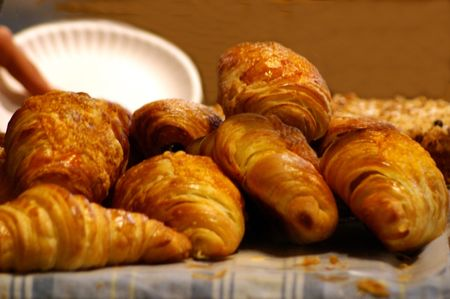 croissants from bakery