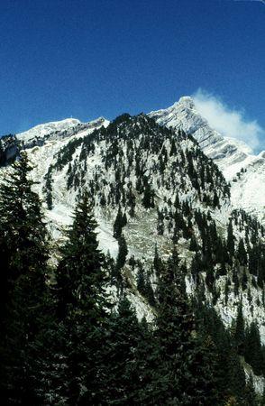 Mount Pilatus near Lucerne in Switzerland Stock Photo
