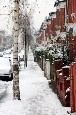 January snow in London
