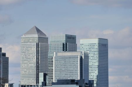 Canary Wharf, financial sector, of London,England Stock Photo - 7674368