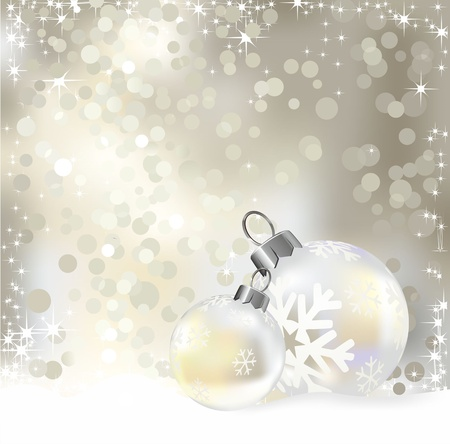 New year ball, abstract background