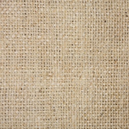 Coarse brown fabric in country style Stock Photo