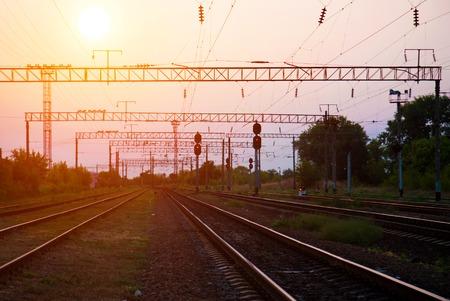 The way forward railway photo
