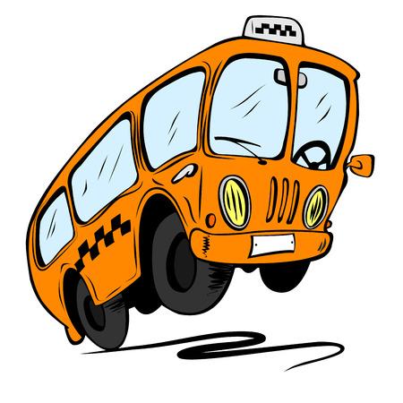 viagem: Ônibus dos desenhos animados