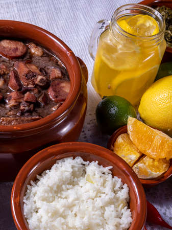 Feijoada, the Brazilian cuisine tradition. Standard-Bild