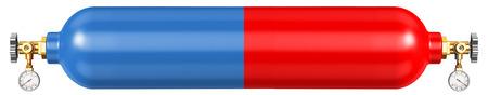 金属を溶接するための酸素とプロパンを販売するためのサイトのためのバナー。