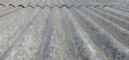 Texture of asbestos slate sheet for roof. Stock fotó - 134767113