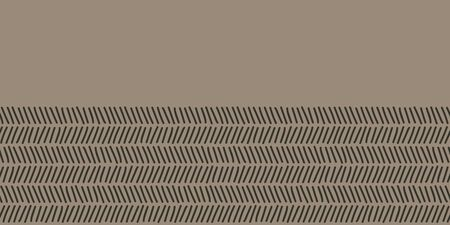 Vector doodle herringbone made into repeat border. Great for decorations, greeting card, wrap, ribbon. Stock Illustratie