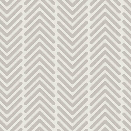 Vector seamless texture pattern in gray. Simple vertical chevron made into repeat. Great for background, wallpaper, wrapping paper, packaging, fashion. Stock Illustratie