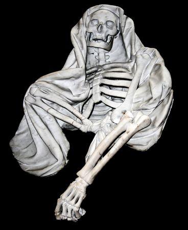 White marble death skeleton  photo