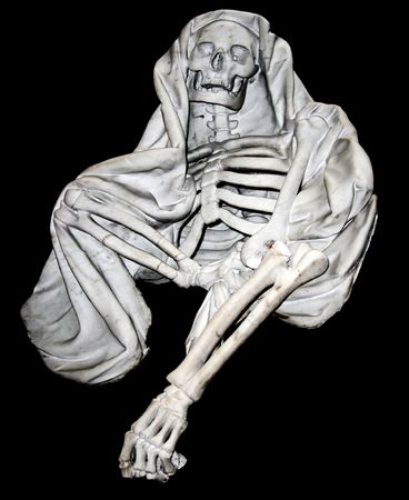 White marble death skeleton  photo