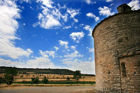 Ruin church on a mediterranean country Stock Photo - 3828627