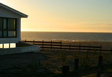Fishermans house on the coast Stock Photo - 3893688