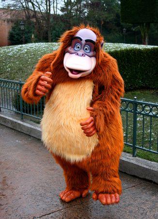 Disney monkey carnival adult dress