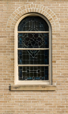 neogothic: window in Victorian Gothic, Neo-Gothic or Jigsaw Gothic style
