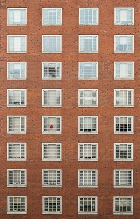 many windows: Many Windows on residential building