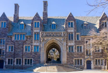 Princeton, New Jersey - February, 2019: Princeton University is a Private Ivy League University in New Jersey, USA.