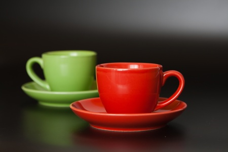 housewares: Colored cups