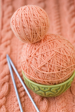 hobie: Two tangle with pink thread on the Turkish national dish and spokes