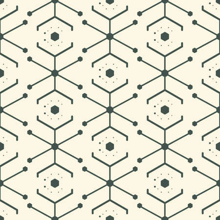 Vector Design of Geometry Patterns with Soft Colors. Perfect for Wallpaper, Fabric, Texture, etc.
