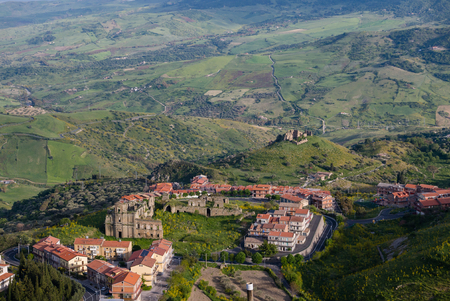 former: Troina is a town, former bishopric, comune (municipality) and Latin Catholic titular see in the province of Enna, Sicily, Italy. It is located in the Nebrodi Park.
