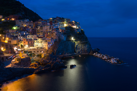 frequented: Manarola is a small town, a frazione of the comune (municipality) of Riomaggiore, in the province of La Spezia, Liguria, northern Italy. It is the second smallest of the famous Cinque Terre towns frequented by tourists.