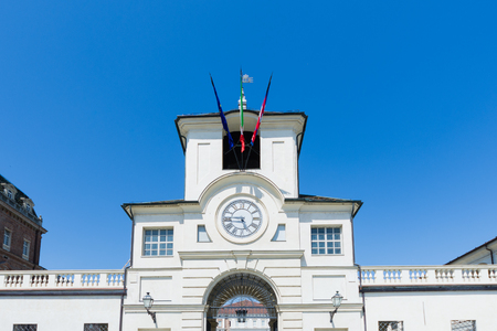 The main Gate to the Royal Palace of Venaria