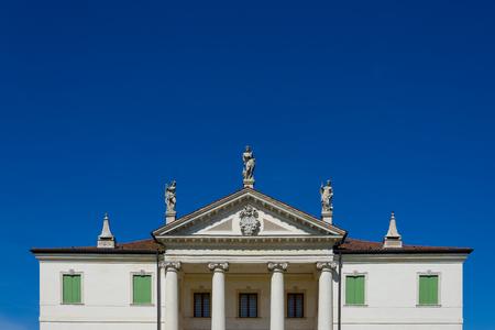 Detail of the Villa Cordellina Lombardi in Montecchio Maggiore, Veneto, Italy