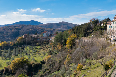 The village of Chiusdino, in a magnificent position between the Merse Valley and the Metalliferous Hills, is immersed in a sylvan scenario that enhances the structure of the medieval castle and the village that surrounds it.italy