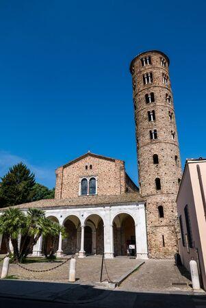 Basilica of Sant Apollinare Nuovo in Ravenna. Italy.