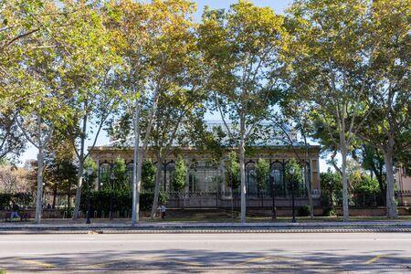Greenhouse of the park de la Ciutadella. Barcellona. Spain. Stockfoto