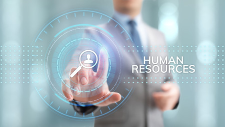 HR Human resources management recruitment talent concept.