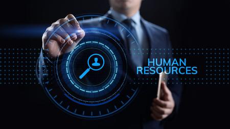 Concept de talent de recrutement de gestion des ressources humaines RH.