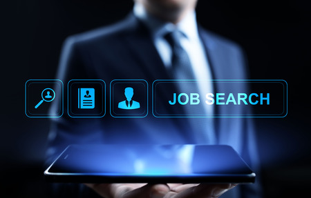 Job search hiring recruitment send CV resume business concept. Reklamní fotografie
