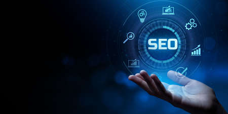 SEO Search engine optimization internet digital marketing business technology concept.