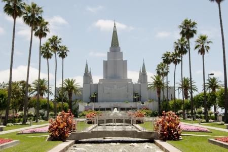 LDS 教会のオークランド カリフォルニア LDS の寺院