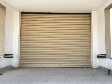 Powder coated Aluminum alloy material rolling shutter with double insulated thermal proof material packed can be used for the car garage shop protection and full control of protection by remote