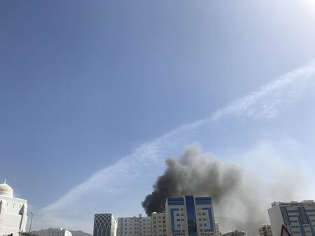 i have noticed heavy smoke coming out of an residential building due to fire from the kitchen or electric trip and needed a call for an emergency fire fighters