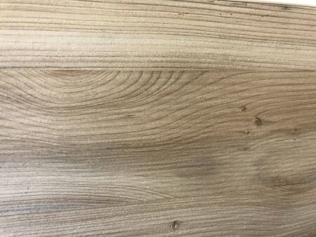 Finished Polished wooden grains over a Laminated or veneered finishes for an Table top counter for an Luxurious Look Carpentry works of an Shopping mall Imagens