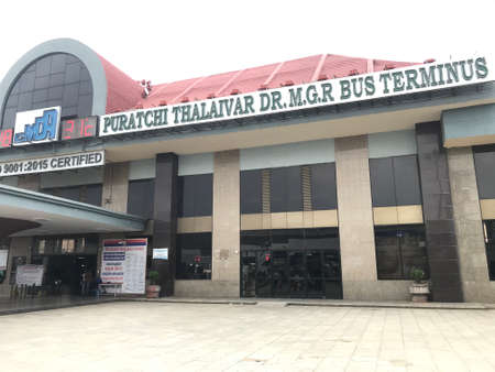 Koyembedu bus terminal is an Asia massive large bus busiest terminal